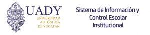 Sistema de Información y control Escolar Institucional UADY SICEI